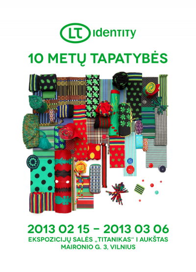 """Dizainerių Jolantos Rimkutės ir Ievos Ševiakovaitės parodos """"LT identity: 10 metų tapatybės"""" atidarymas"""