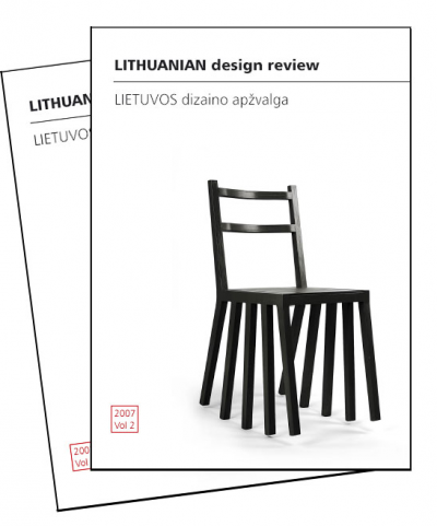 "Išleistas ""Lithuanian Design Review Vol. 2″"