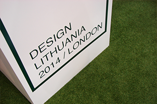 DESIGN LITHUANIA 2014 / London