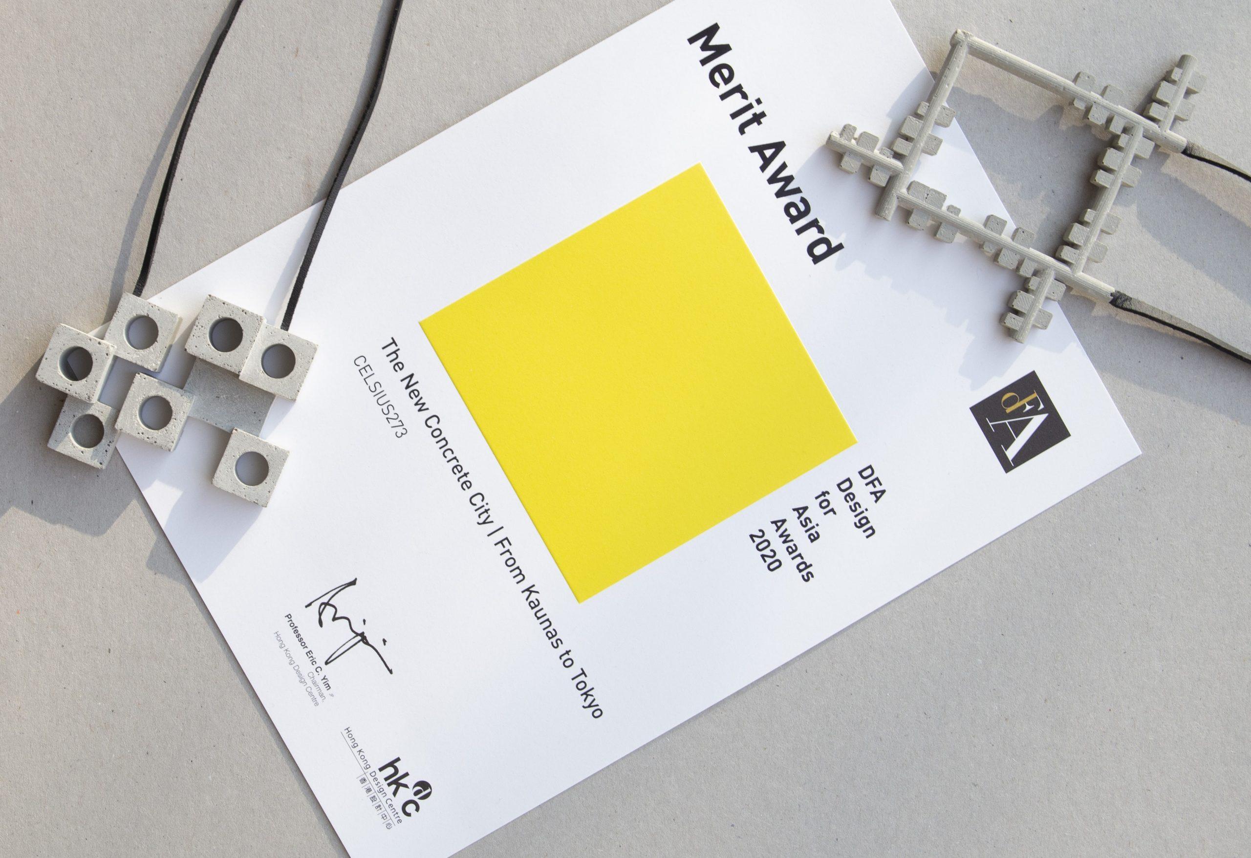 """Sveikiname Lietuvos dizaino forumo narę Gerdą Liudvinavičiūtę su 4 vietos laimėjimu """"DFA Design for Asia"""" parodoje"""