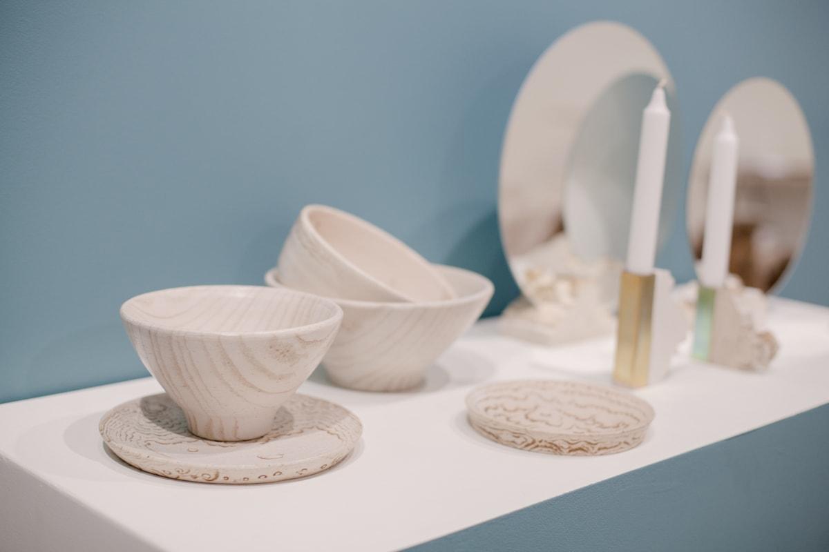 Design Lithuania Caen, Vita Vaitiekūnaitė, keramika Bangos