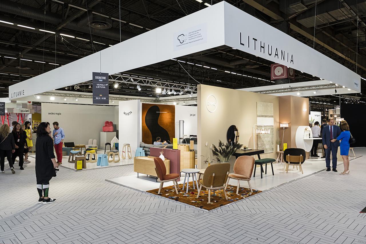 Devynios Lietuvos baldų dizaino įmonės pristato naujausias kolekcijas Paryžiuje