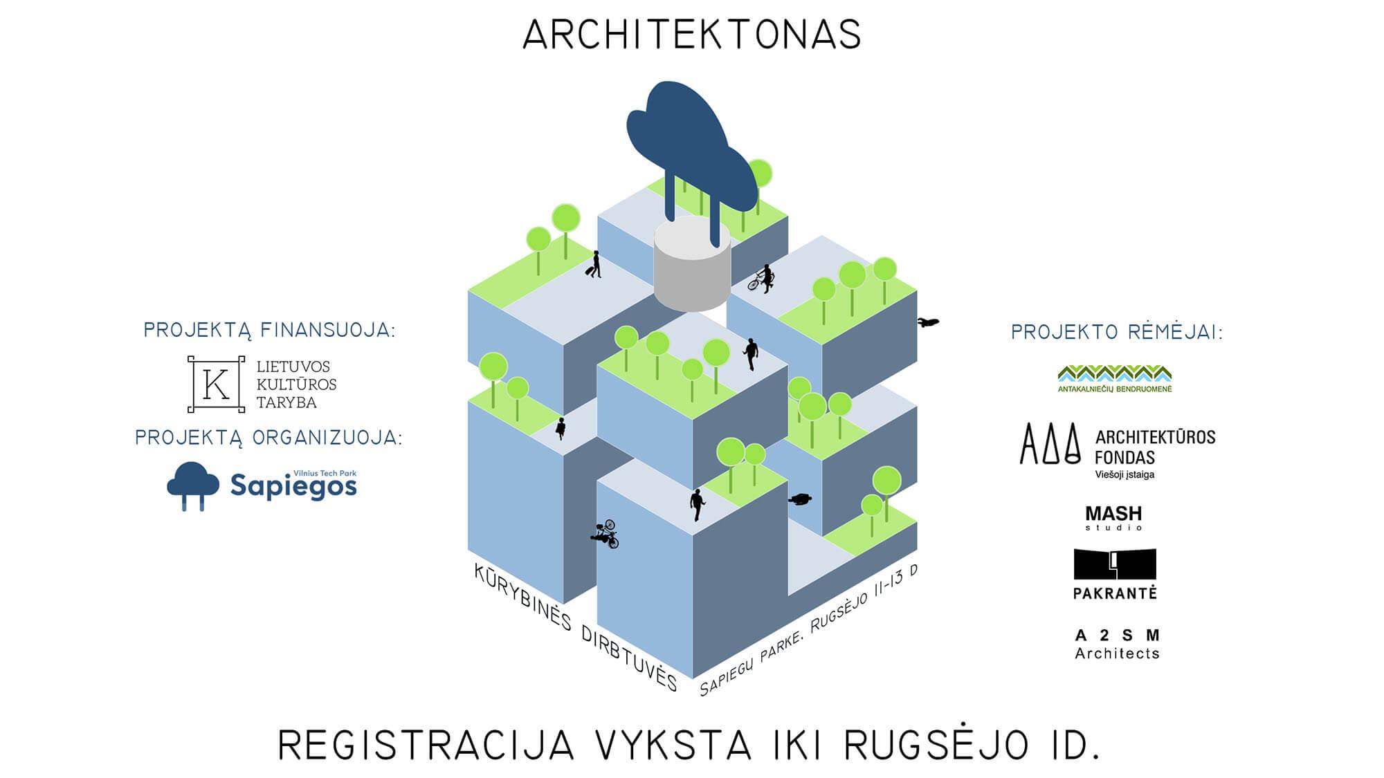 """Džiaugiamės kad prie Dizaino savaitė'20 prisijungė pirmasis Lietuvoje """"Architektonas"""""""